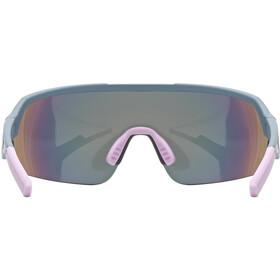 UVEX Sportstyle 227 Glasses, gris/rosa
